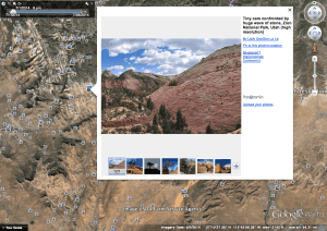 Viewing Panoramio Photos in Google Earth