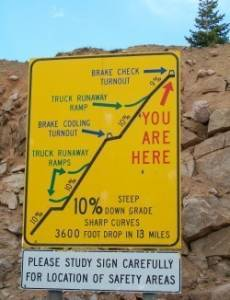 Steep Grade Ten Percent