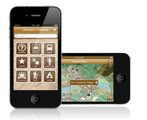 Chimani National Parks app for iPhone